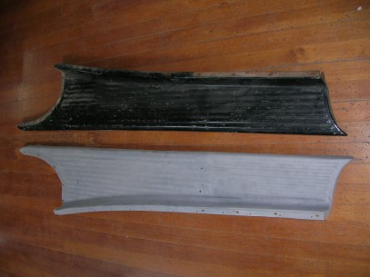 Running Board top side
